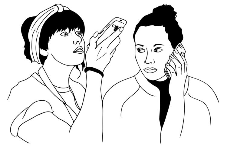 Illustration 'Gurney movie post - katiewaye | ello