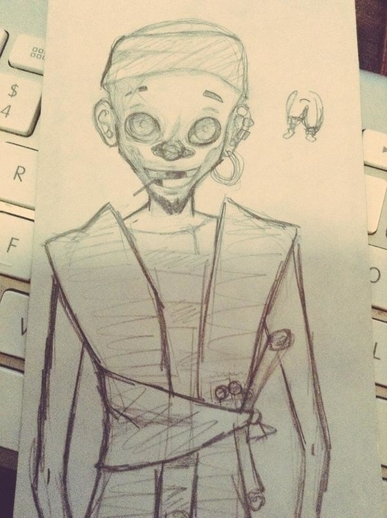 scrapped pirate character desig - shortstuffcl | ello