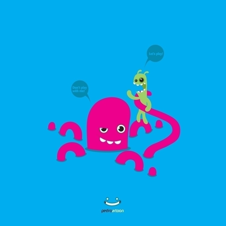 octopus, monster, pedroartoon - pedroartoon | ello