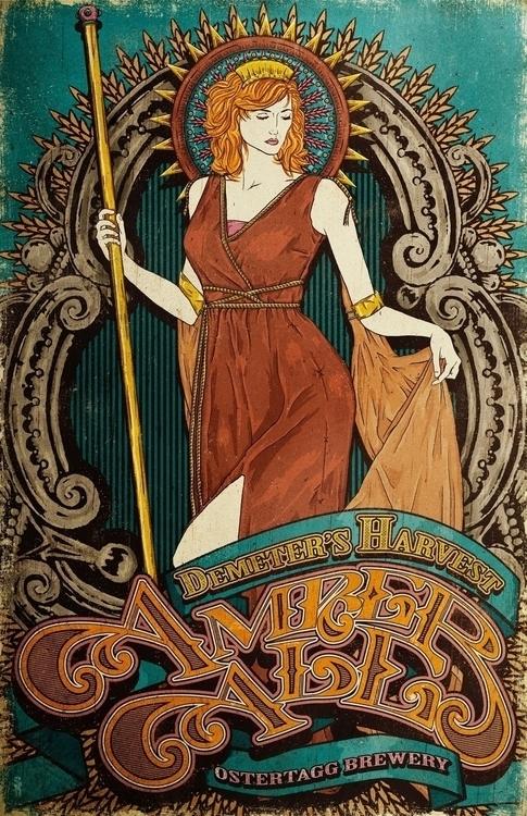 Harvest - commissioned poster - illustration - jstoutillustration | ello