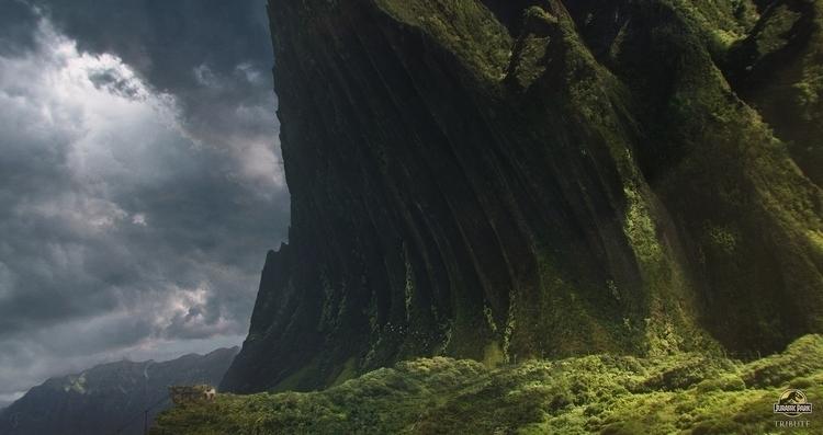 Tribute Jurassic Park - conceptart - jessicarossier | ello