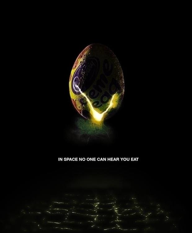 Space, Hear Eat - alien, aliens - mottsawce | ello