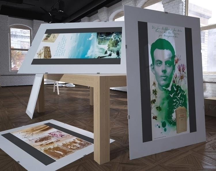 Saint-Exupéry - decor indoor - graphicdesign - picturgency | ello