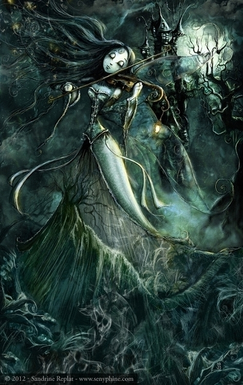Dust Echoes - digitalpainting, fantasyillustration - senyphine | ello