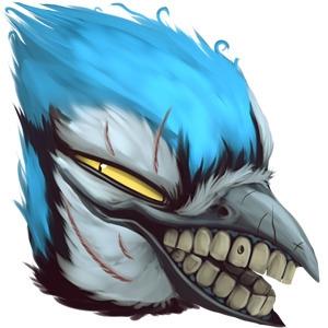 Jay Icons - bluejay, bird - mozakade | ello