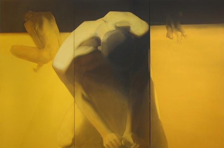 ''Alter ego'' 200x300 cm acryli - maryna-6139 | ello
