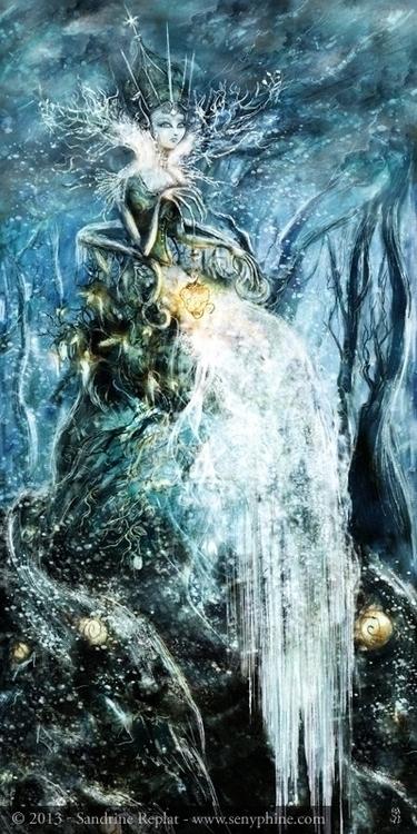Snow queen picture Mystérieuse  - senyphine   ello