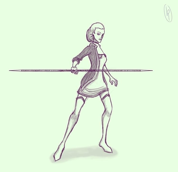 Untitled sketch 3 (08/06/2016 - spear - ricardovalente | ello