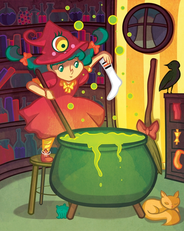 Sock Witch. Part book collabora - artisteko | ello
