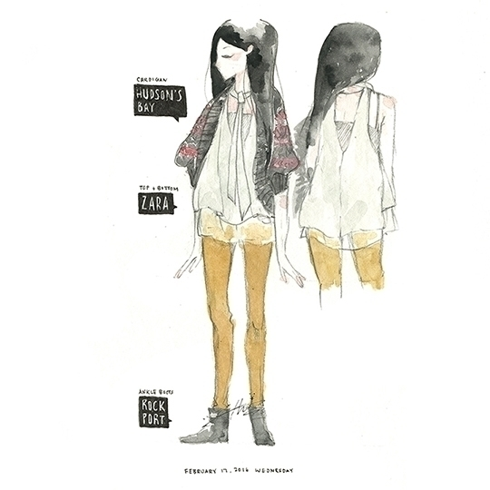 illustration, fashion, fashionillustration - yuchentseng | ello
