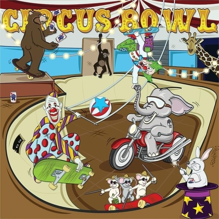 CIRCUS BOWL circus bowl illustr - ronaldpantin | ello