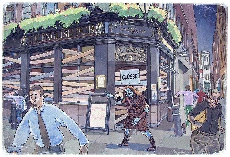 Illustration William Scotch - illustration - leszekwicherek | ello