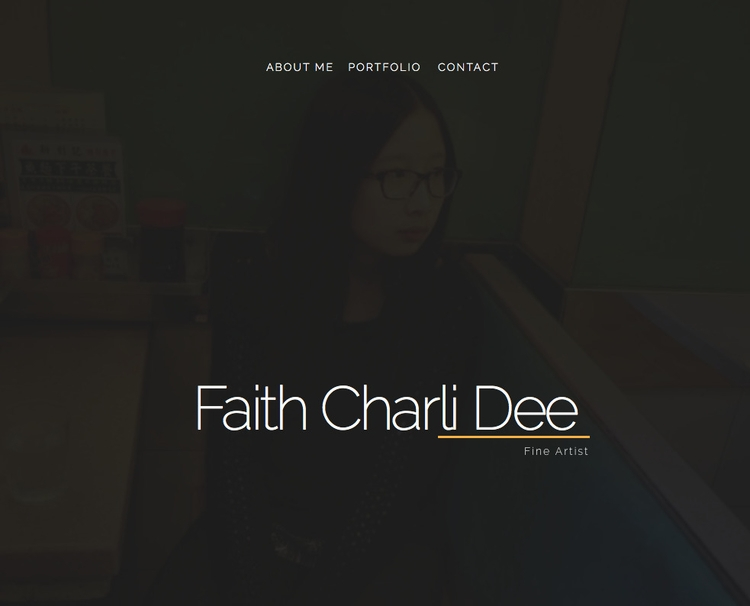 · Artist Faith Charli Dee Onlin - sebiosalces | ello