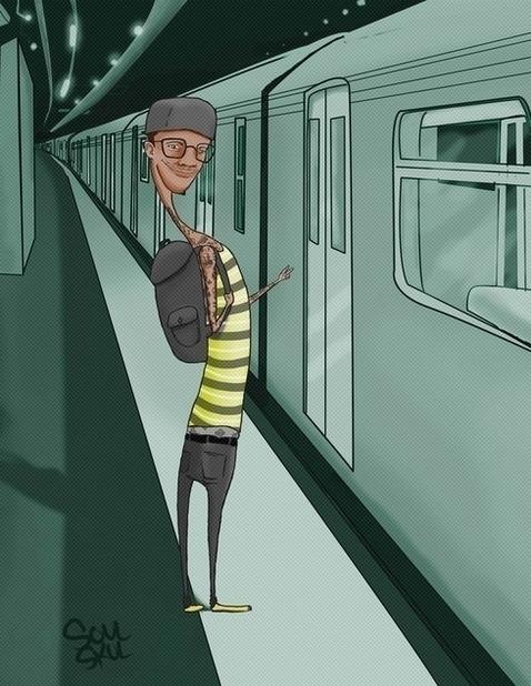 Peace bro - characterdesign, illustration - isra-9532   ello