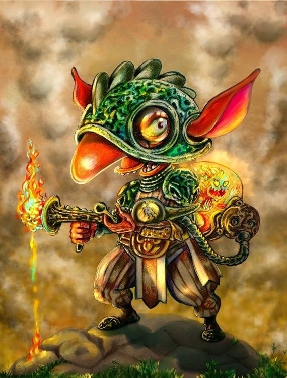 Goblin_Kiss-firefly - illustration - nogui-5722 | ello