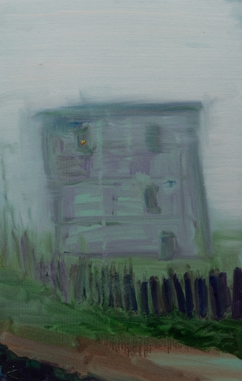 House Fog - painting - mcmester | ello