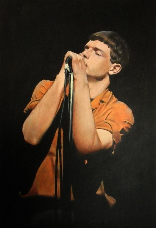 Ian Curtis - painting, illustration - alecs-1191 | ello