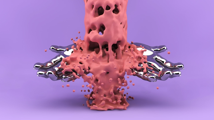 Overflowing - 3D, Design, cinema4d - martinjarmin | ello