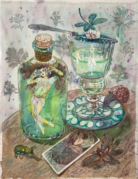 art nouveau dreams 40x40 cm wat - naktisart | ello