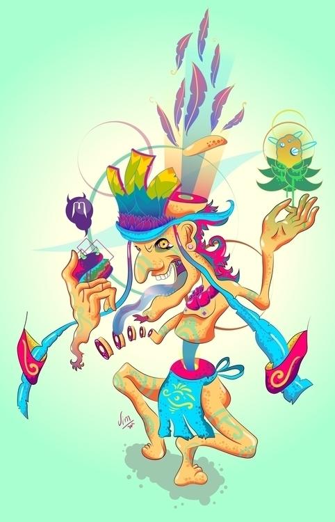 Taste - illustration, characterdesign - jimwuk | ello
