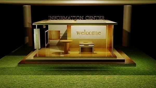 Information Booth Model - monishas | ello