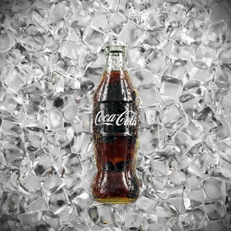 coca-cola, 3dart, 3d, bottle - arturtamiola | ello