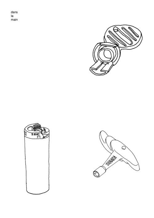 hand / dans la main - drawing, illustration - stephanemercier | ello