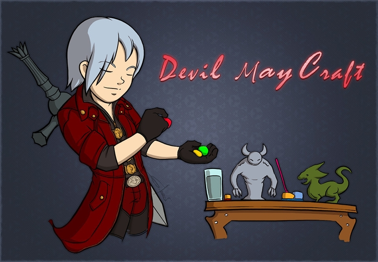 Devil Craft - devil, devilmaycry - sarcix | ello
