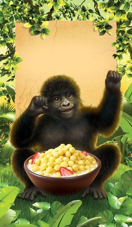 Envirokidz Gorilla Crunch - charactermill | ello