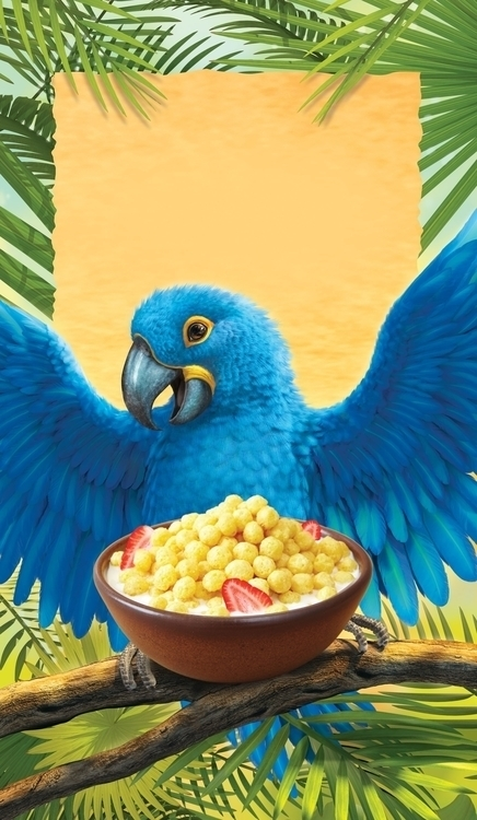 Envirokidz Macaw - macaw, 3d, package - charactermill | ello