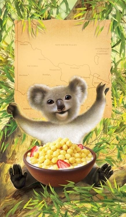 Envirokidz Koala - charactermill | ello