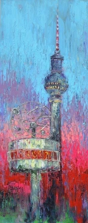 Alex tower 175x75 Oil canvas. 2 - tanya_vasilenko | ello
