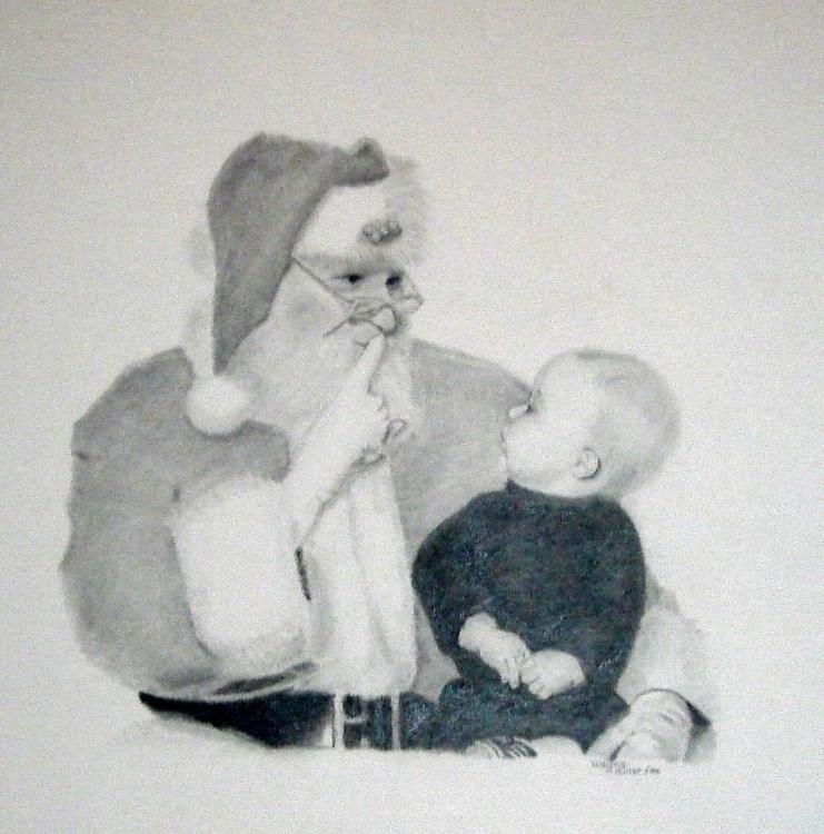 Christmas secret - waynemiller | ello