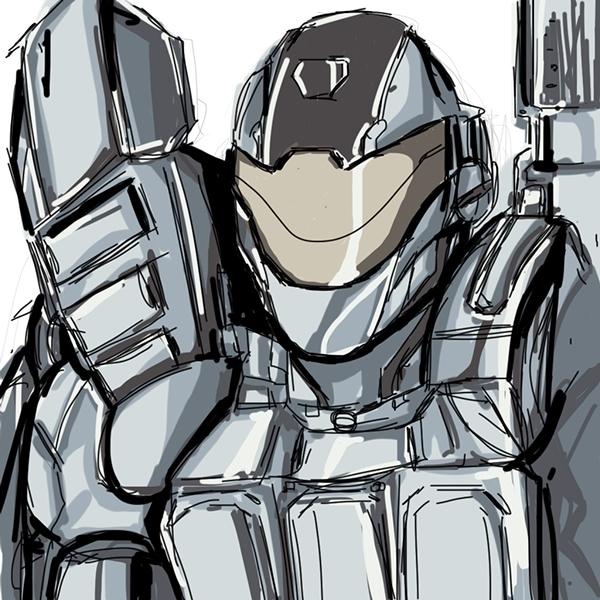 Echo Suit / character design ed - edvo | ello