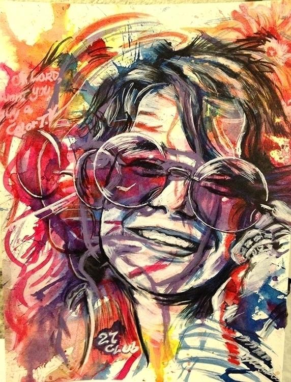 narcotics - illustration, painting - kyleand | ello