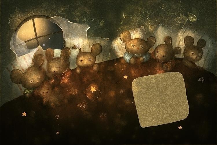 mouse autumn 2 - illustration - smokepaint | ello