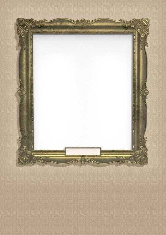 Frame 3D model render | generic - vantage-9372 | ello