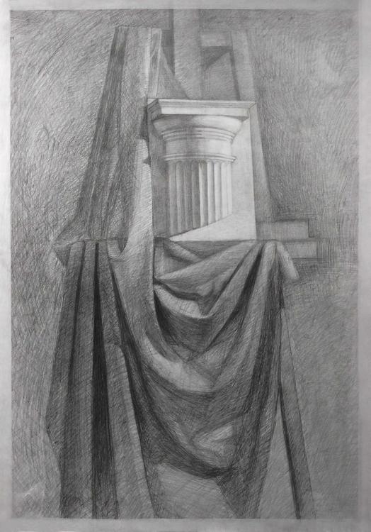 life. Capital. Paper, pencil - painting - 2djanel   ello