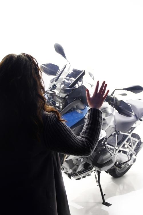 photography, girl, motorcycle - ahabashi | ello