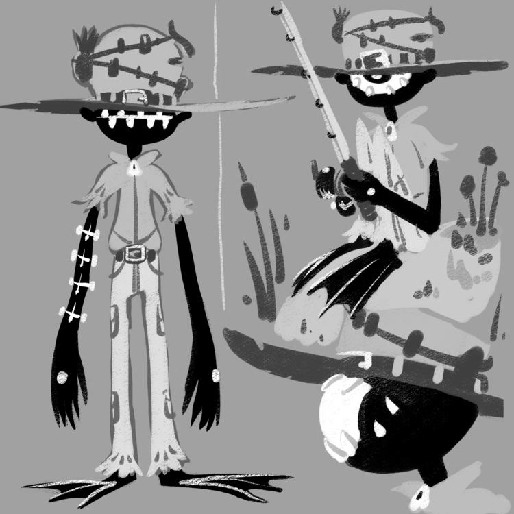 characterdesign, digitalart - camperjon | ello
