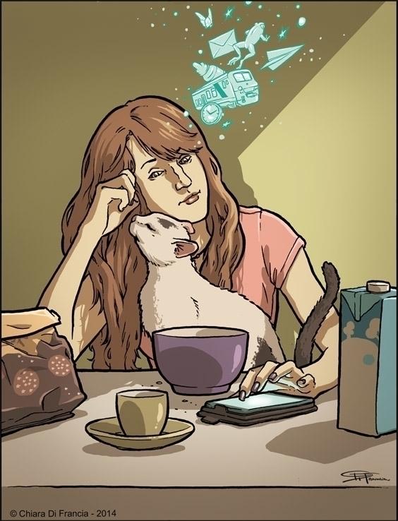 Monday Morning - selfportrait, mondaymorning - chiaradifrancia | ello