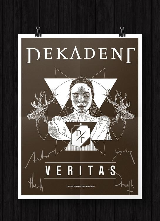 Album poster Dekadent: Veritas - felicijansedmak | ello