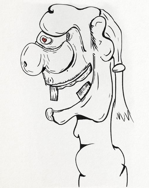 SketchTown Love Ogre - 026, sketch - rubbo | ello