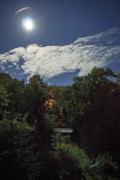 photography, night, supermoon - ahabashi | ello