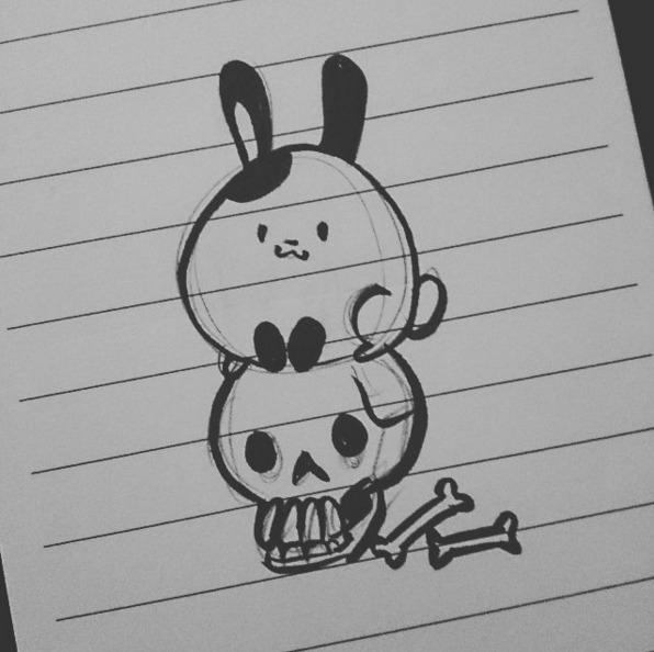 20th Jan 2016 - BunnyBrush, illustration - bunnybrush | ello