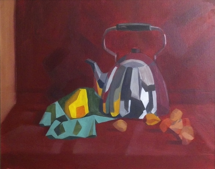 life. Oil canvas - oilpainting, oiloncanvas - 2djanel | ello