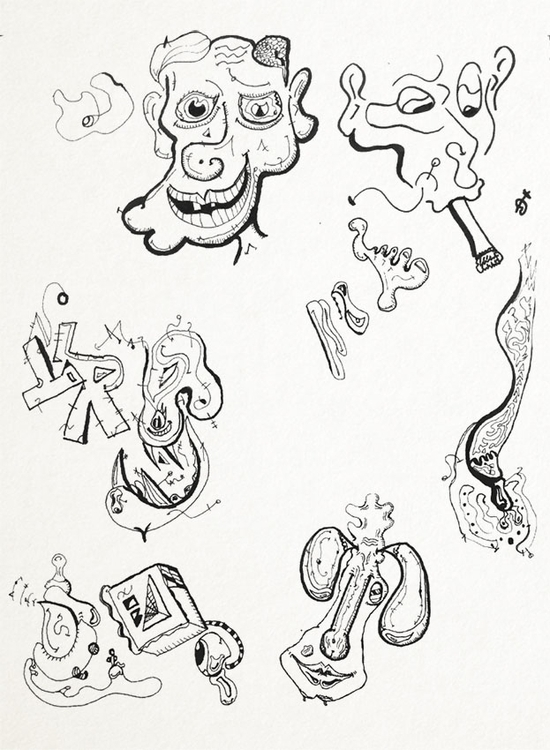 SketchTown silly characters - 001 - rubbo | ello