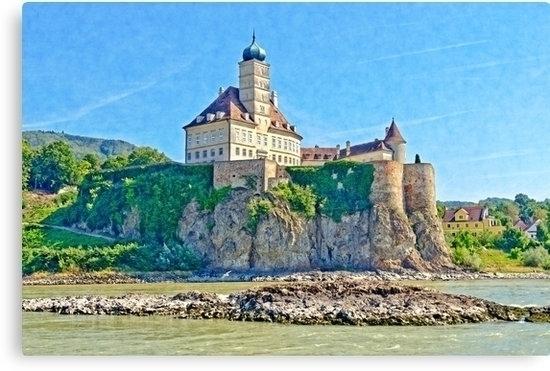Palace Schoenbuehel part Danube - leo_brix   ello