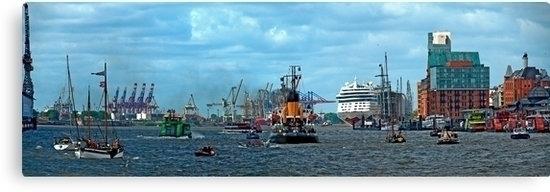 Panoramic view maritime traffic - leo_brix | ello