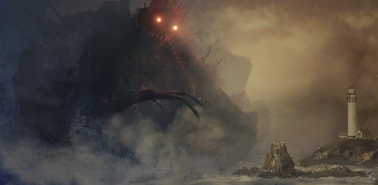 Title Evil story Ray Fog Horn p - sanskarans | ello